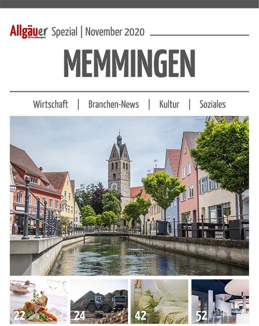 Allgäuer Wirtschaftsmagazin Regio Spezial Memmingen