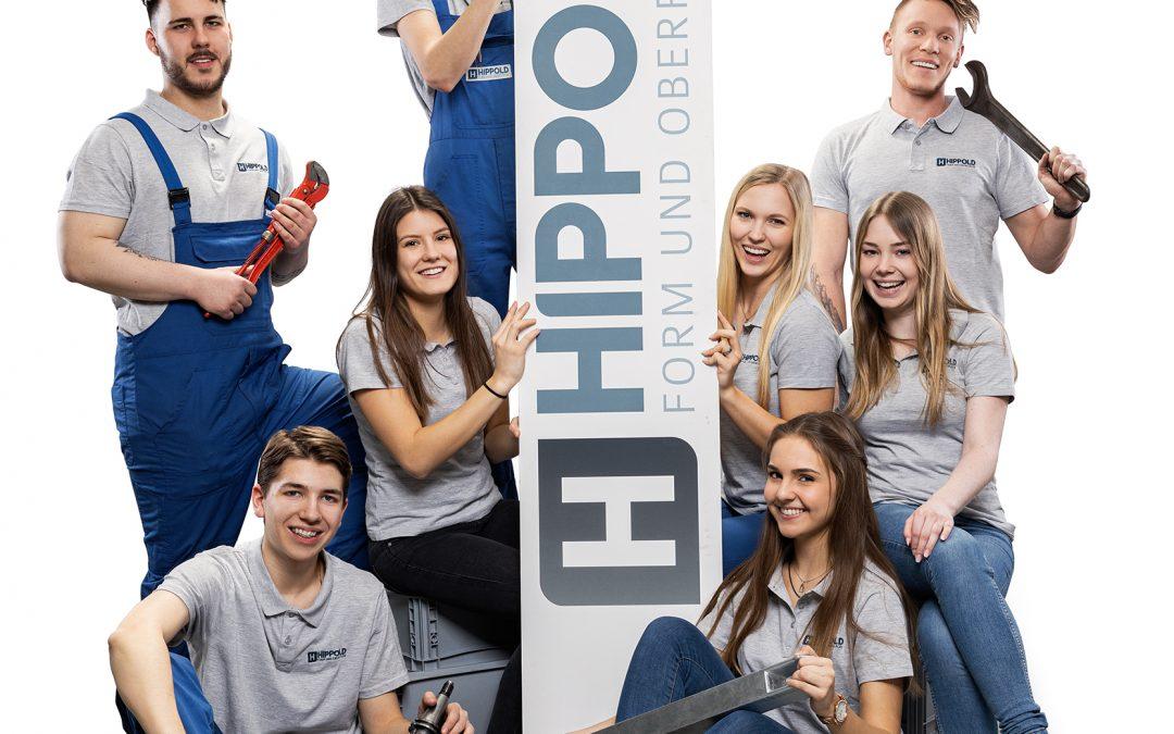 Hippold voraus: Entwicklung in einem starken Team