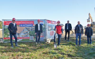 Ambros Bau: Baustart für 24 Wohnungen