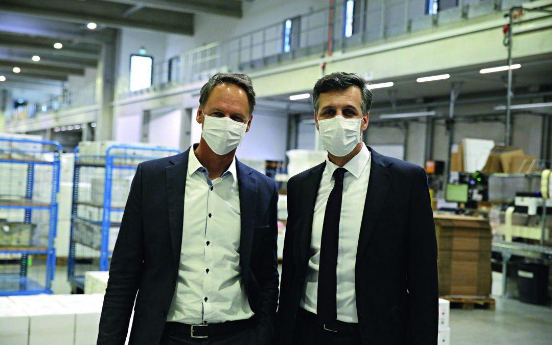 Tausende Schutzmasken für Buchloes Kitas und Schulen
