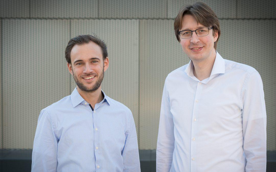 Zwei Startups auf dem Siegertreppchen