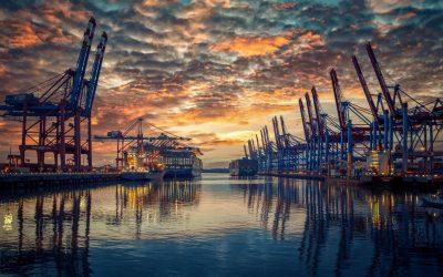 Exportrückgang um 6,7 Prozent in 2020