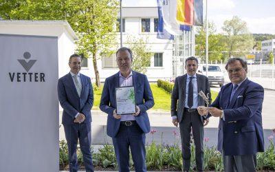 Unternehmensführung: Vetter gewinnt internationalen Preis