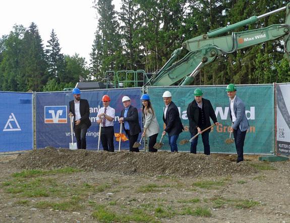 Neue Büro- und Geschäftsgebäude in Memmingerberg